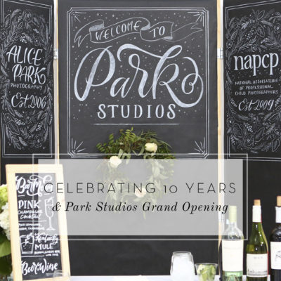 CELEBRATING 10 YEARS & PARK STUDIOS GRAND OPENING