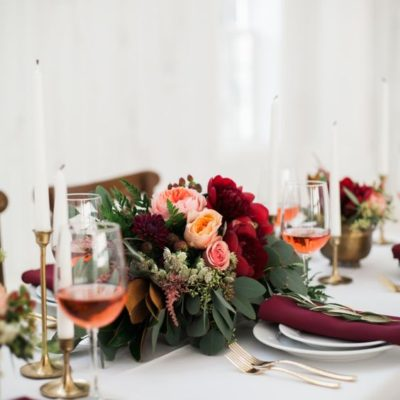 Autumn Bridal Luncheons