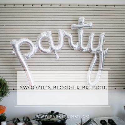 Park Studios Events: Swoozie's Blogger Brunch