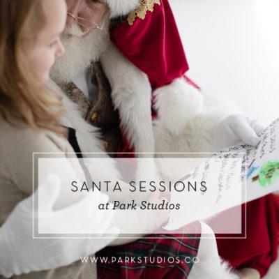 Santa Sessions at Park Studios