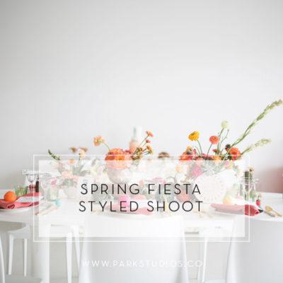 Spring Fiesta Styled Shoot