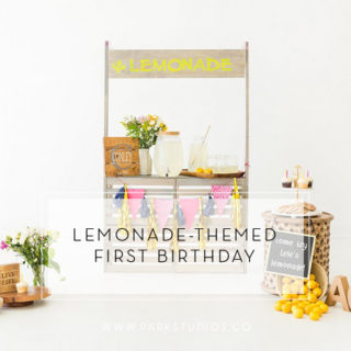 This Lemonade Themed First Birthday is So Sweet