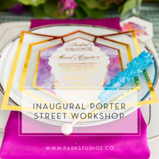 Inaugural Porter Street Workshop!