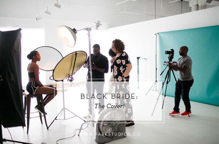 black bride magazine the cover park studios