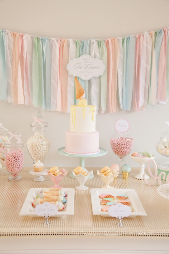 Pastel Birthday Parties For Girls Park Studios