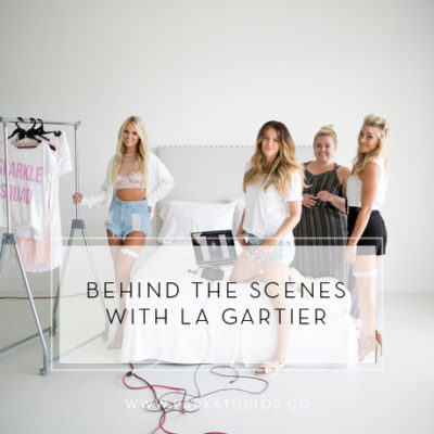 Behind the Scenes with La Gartier Wedding Garters