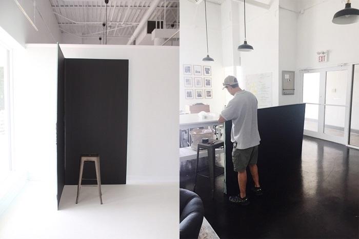 matte black paint Behr | Park Studios
