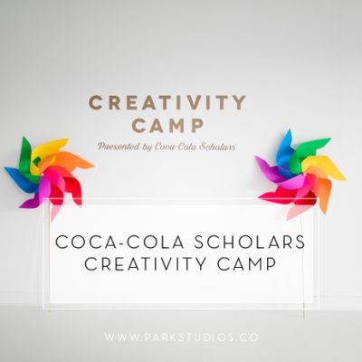 Coca-Cola Scholars Creativity Camp