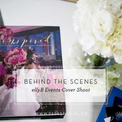 Behind the Scenes: ellyB Events Cover Shoot