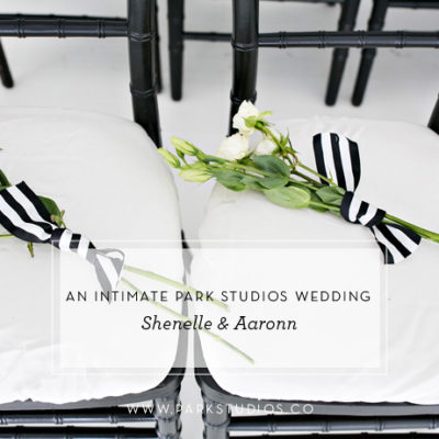 An Intimate Park Studios Wedding