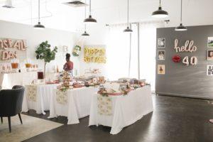 Park Studios Atlanta catered birthday party