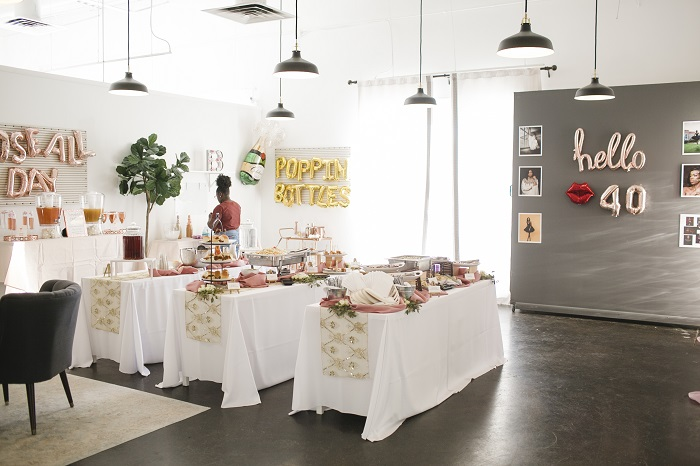 Park Studios Atlanta catered birthday party