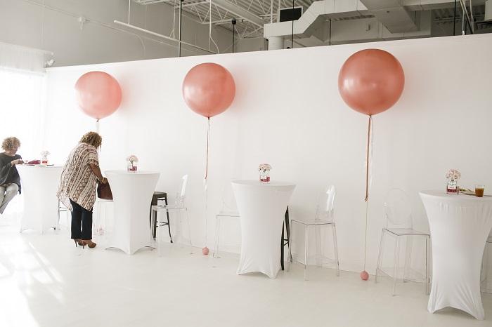 Park Studios Atlanta birthday party setup