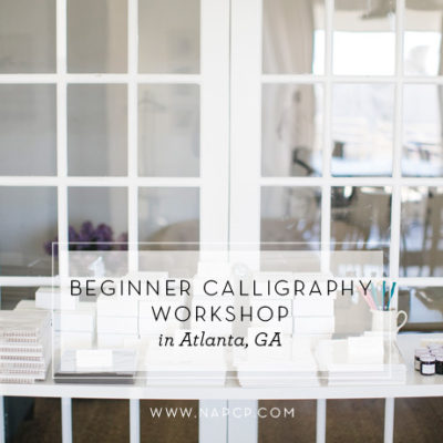 Beginner Calligraphy Workshop in Atlanta, GA