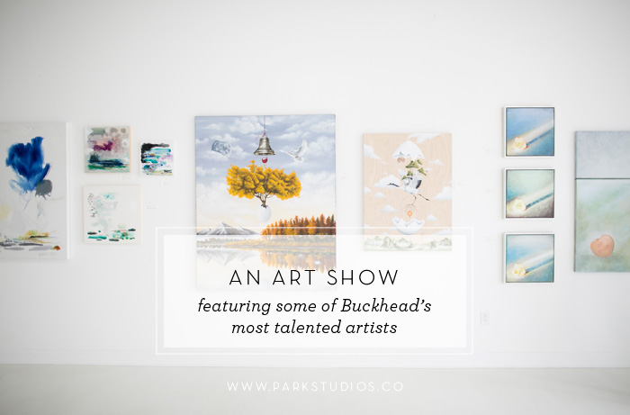 Art Buckhead pop-up art show at Park Studios