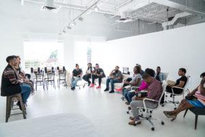 intimate Atlanta workshop space Park Studios