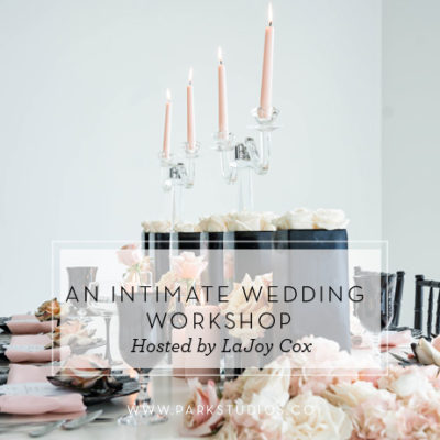 Intimate Wedding Workshop Hosted by LaJoy Cox