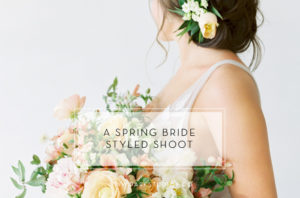 spring bride styled shoot feature image