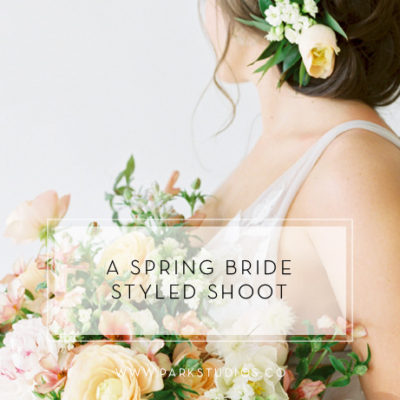 A Spring Bride Styled Shoot