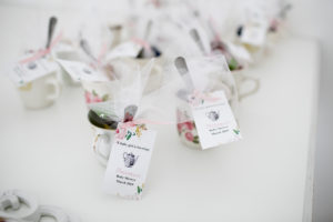 tea cup baby shower favors