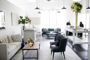 Park Studios reception and seating area
