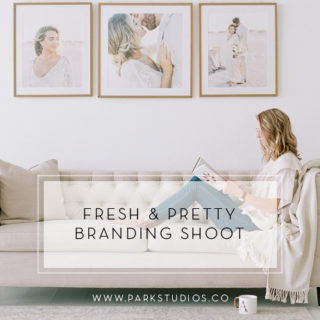 fresh pretty branding shoot featured image