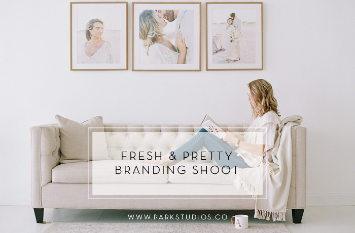 fresh pretty branding shoot featured image